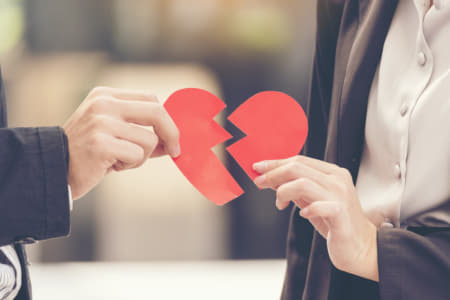 友情結婚の「破綻」や「離婚」